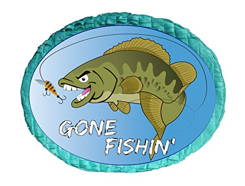 Inc Aztec Imports Gone Fishing Pinata