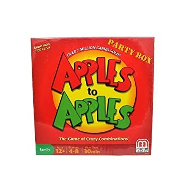 Mattel Apples to Apples Party Box The Game of Crazy Combinations