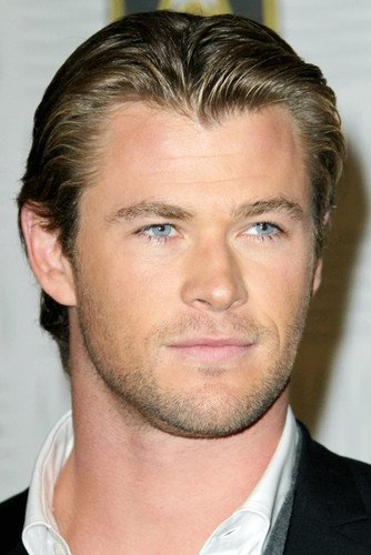 Chris Hemsworth Head Shot Candid Thor Star 24x36 Poster