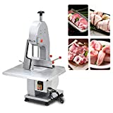 1500W Bone Cutting Machine - Electric Meat Bone cutter Machine Frozen Meat Bone Cutting Machine Verticle Band Saws Equipment for Supermarket Restaurant Cutting Ribs, Roasts, Steaks Poultry Fish