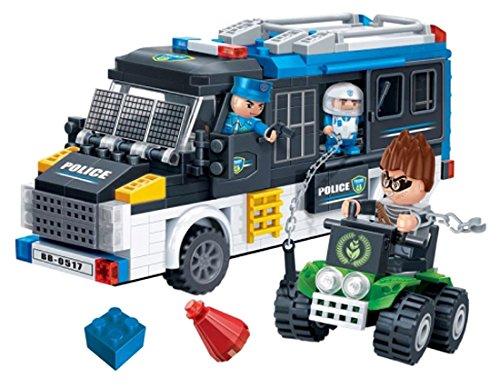 BanBao Police Van Building Kit (325 Piece)