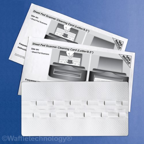 Discover Bargain Sheet Fed Scanner Cleaning Card Featuring Waffletechnology (15 Sheets) (15)