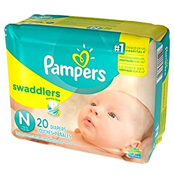 Pampers Swaddlers  Newborn  240 count