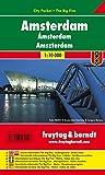 Amsterdam, plano callejero de bolsillo plastificado. City Pocket. Escala 1:10.000. Freytag & Berndt.: Stadskaart 1:10 000: PL 105 CP (City Pocket + The Big Five)