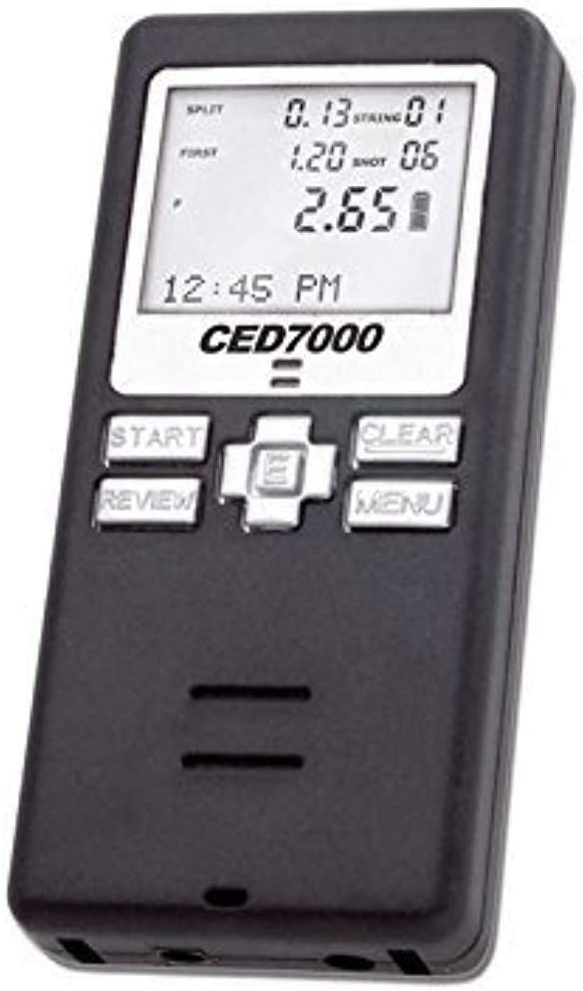 ced7000Shot Temporizador seco Fire práctica de Disparo o la Ro utilización en uspsa, ipsc, 3Pistola, y Challenge de Acero.