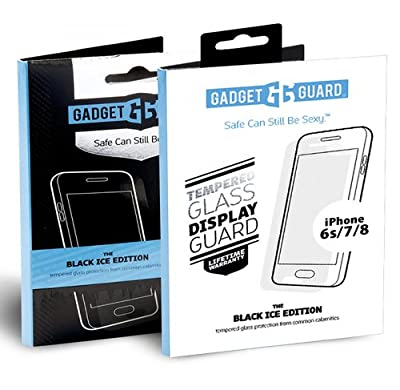 Gadget Guard Black Ice Tempered Glass Screen Protector for Apple iPhone 6S/7/8 (packaging may vary) from Dynamic Products Inc
