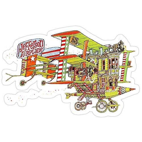 Vinyl Sticker For Cars, Trucks, Water Bottle, Fridge, Laptops Jefferson Airplane - After Bathing At Baxter'S Stickers (3 Pcs/Pack) 7836675459