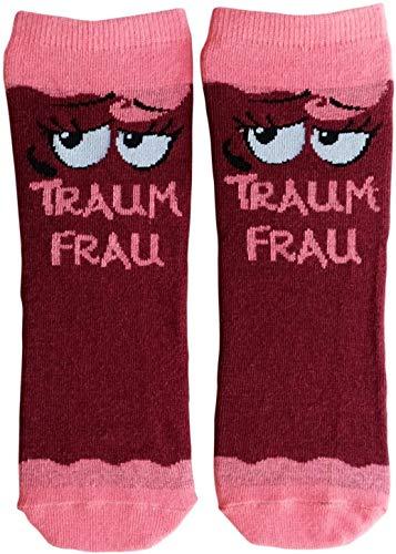 GRUSS und CO 45596 Zauber-Socken, Baumwolle/Nylon/Elastan, Rosa, Größe: 36-40