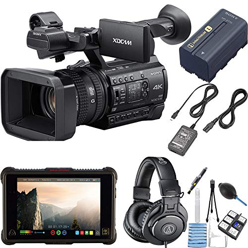 For Sale! Sony PXW-Z150 4K XDCAM Camcorder with Atomos Ninja Inferno & Audio-Technica ATH-M30x Bundl...