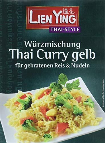 Lien Ying Thai Style gebratenen Reis Curry gelb Würzmischung, 24er Pack (24 x 13 g)