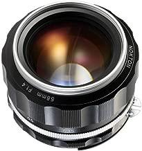 Voigtlander Nokton 58mm f/1.4 SL II S Ai-S Lens, Silver