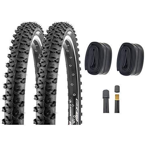 P4B   2 pneus de vélo de 24\