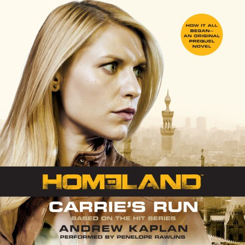 Carrie's Run audiobook cover art