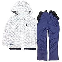 COSBY(コスビー) スキーウェア キッズ ジュニア 女の子 子供 スノーウェア csb4274 ホワイト 140cm