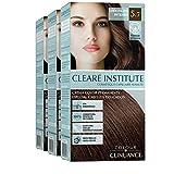 Colour Clinuance | Coloration Permanente Cheveux Délicats | Coloration Permanente Sans Ammoniaque | 5.7 Chocolat Intense | Pack de 3