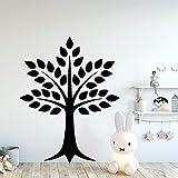 yaonuli Arbre créatif Vinyle Autocollant Mural Salon Chambre d'enfants décoration Autocollant décoratif Autocollant Papier Peint étanche 42x105 cm