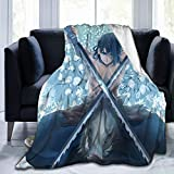 De-Mon SLA-Yer Ultra-Soft Micro Fleece Blanket Home Decor Warm Anti-Pilling Flannel Throw Blanket,Bed Car Camp Couch Fall/Winter Plush Throw Blankets for Adults Or Kids,80'X60'