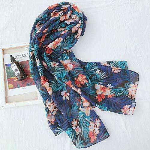 MYTJG dames sjaal sjaal dames gedrukt katoen warme sjaal voorjaar en herfst winter warme en comfortabele mode sjaal