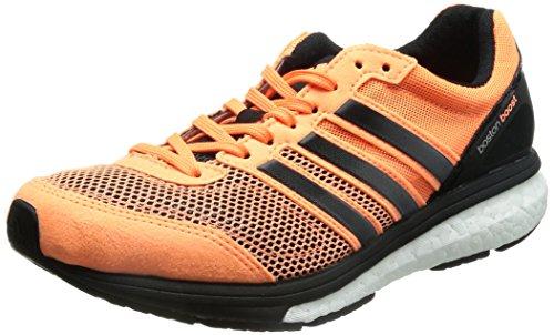 Adidas Adizero Boston 5 W - Zapatillas para correr, color naranja, negro y blanco, multicolor (Orange/Black/White), US5.5|UK4|EU36 2/3
