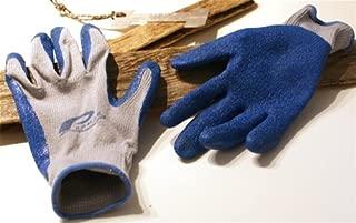 Trident Promar 10 Gauge Stretch Cotton Poly Blend Latex Grip Gloves