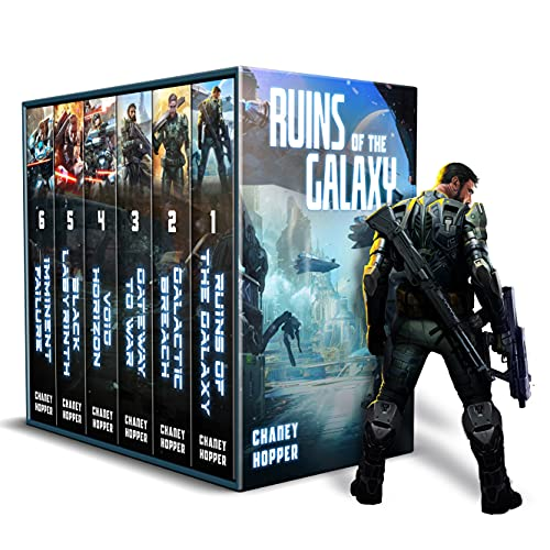 #1 bestseller in alien invasion science fiction eBooks! 6-in-1 BOXED SET ALERT!  <em>Ruins of The Galaxy Boxed Set: Books 1-6</em> by J.N. Chaney and Christopher Hopper