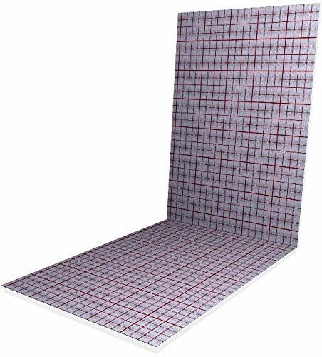 10 m² Verbundplatte Tackerplatte Gewebefolie 20-2 WLG0 45-20 mm Dämmung TOP