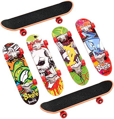 skateboard per dita YIQI Mini Skateboard da Dito 6 Pezzi