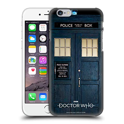 Head Case Designs Licenza Ufficiale Doctor Who Tardis Stagione 11 Arte Chiave Cover Dura per Parte Posteriore Compatibile con Apple iPhone 6 / iPhone 6s
