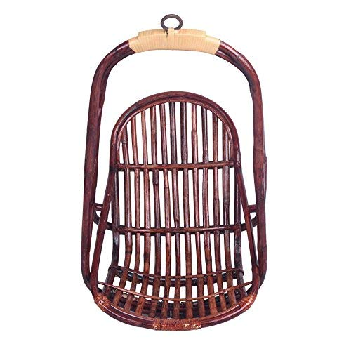 IRA Furniture Wicker Cane Baby Swing 2 to 12 Ears Kids Indoor Outdoor Use