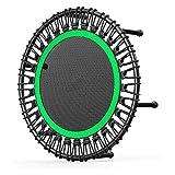 GXLO Trampoline Fitness Round rebondeur Trampoline Exercice 32 Pouces Adultes et Enfants pour Jardin intérieur Séance d'entraînement...
