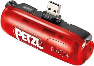 PETZL Erwachsene NAO2 Bluetooth Akku Für Die Nao + stirnlampe, Rot, One Size