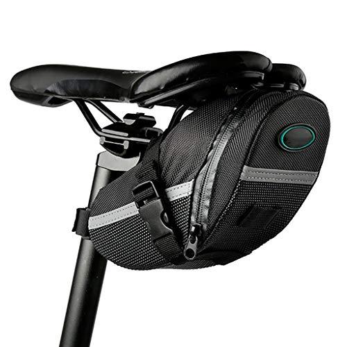 Bolsas Bicicleta Cuadro Asiento cola de la bicicleta del asiento trasero del bolso del bolso del amortiguador bolsa a prueba de agua bolsa de una silla for bicicleta de montaña pequeña bolsa de acceso