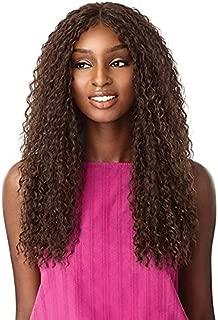 Sensationnel Synthetic Hair Empress Natural Center Part Lace Front Wig ALANI (1B)