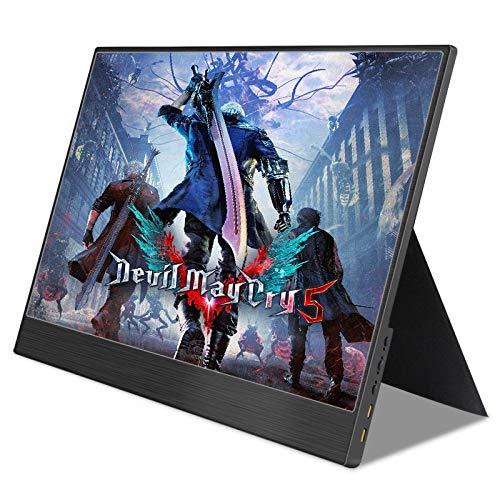 13.3 inch 4k portable-monitor Full HD met type-C USB HDMI voor uitbreiding van mobiele pc laptop tweede scherm spel kantoor,Normal