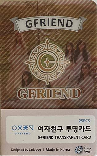 FANCY105 K-POP Group Transparent Photocards Set - 25P (GFRIEND)