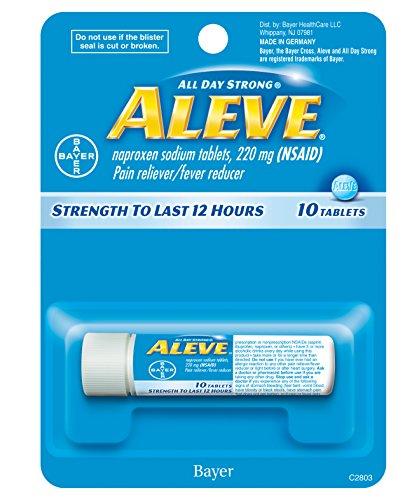 ALEVE TABLET 10CT VIAL