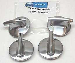 Cooking Appliances Parts 74010839-4 PACK Burner Knob for Jenn Air Gas Range Cooktop PS2088183 AP4100128