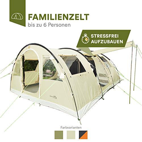 Tienda de campaña túnel - 6 personas | Skandika Gotland 6