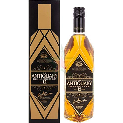 The Antiquary 12 Years Old Blended Scotch Whisky 40,00% 0,70 Liter