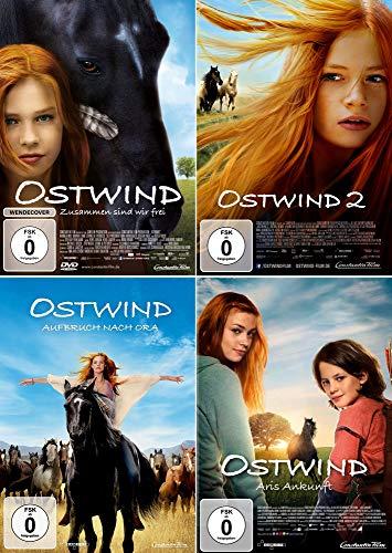 Ostwind 1 + 2 + 3 + 4 Collection (4-DVD) Kein Box-Set
