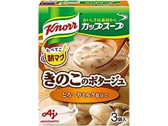 クノール カップスープ ミルク仕立てのきのこのポタージュ 3袋入