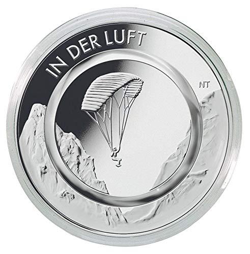 LINDNER Das Original Münzkapseln Innen-Ø 29 mm, 10er-Packung, z.B. für die 10EUR-Sammlermünzen mit Polymerring 'In der Luft'