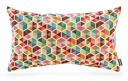 H.O.C.K. Akasma Kissen 50x30cm multicolour boho