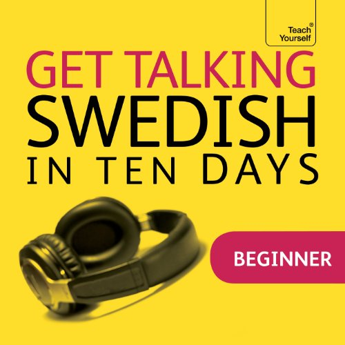 Couverture de Get Talking Swedish in Ten Days