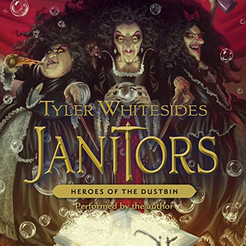 Janitors, Book 5: Heroes of the Dustbin audiobook cover art