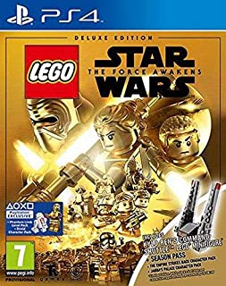 LEGO Star Wars The Force Awakens Deluxe Edition Kylo Ren Shuttle LEGO Minifigure + Season Pass included for Playstation 4 ...