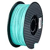 ZXC De 3D Pla Filamento Pluma Recargas 1,75 mm PrecisióN ± 0,02 100% Ninguna Burbuja De 1 kg 2,2 Libras Sin Olores Y FáCil De Pelar Filamento for La MayoríA De Impre(Color:Azul)