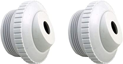 "ATIE Pool Spa 1/2"" Inch Opening Hydrostream Return Jet Fitting with 1-1/2"" Inch MIP Thread Replace Hayward SP1419C (2 Pack)"