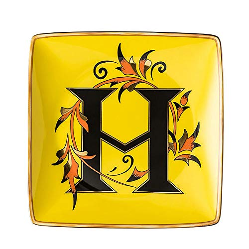 Versace by Rosenthal - Schale, Teller, Schälchen - Holiday Alphabet - H - 12 x 12 cm - Porzellan