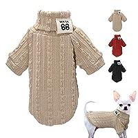 LIFE犬のセーターの冬スポーツウェア猫服ペット服ニットコート小中猫犬オレンジ黒グレーペット服 小型犬クリスマス